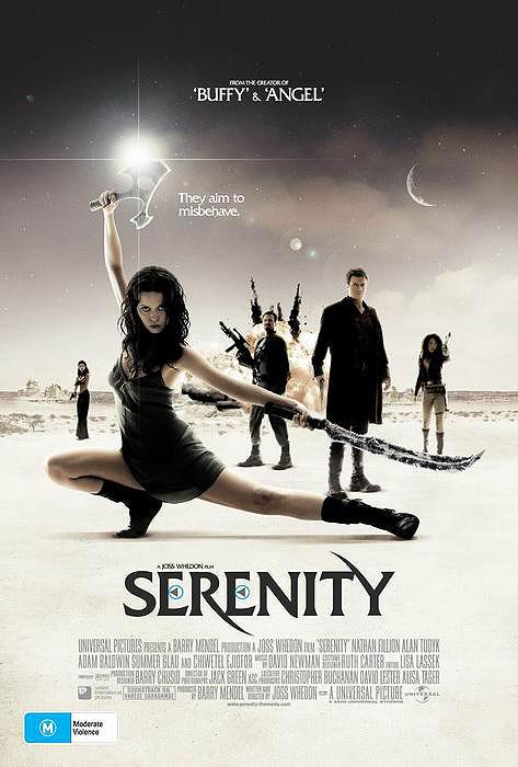 плакат фильма постер Миссия Серенити