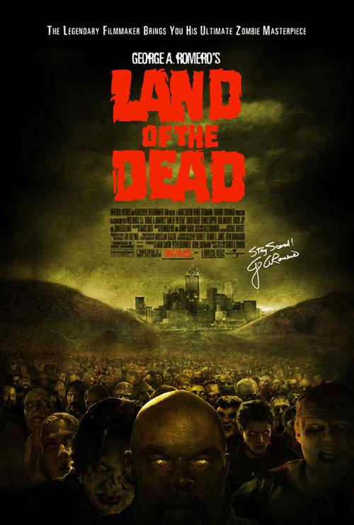 плакат фильма Земля мертвых