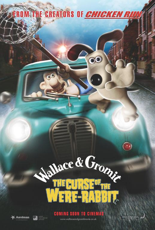 плакат фильма Уоллес и Громит: Проклятие кролика-оборотня