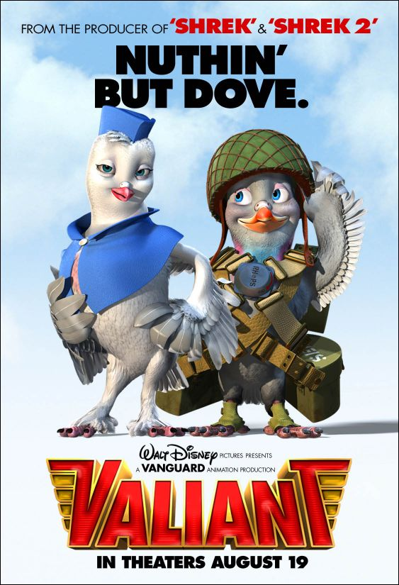 плакат фильма Вэлиант: пернатый спецназ