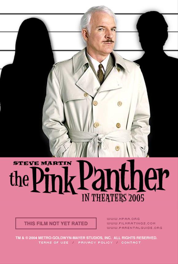 плакат фильма Розовая пантера