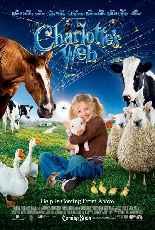 плакат фильма Паутина Шарлотты