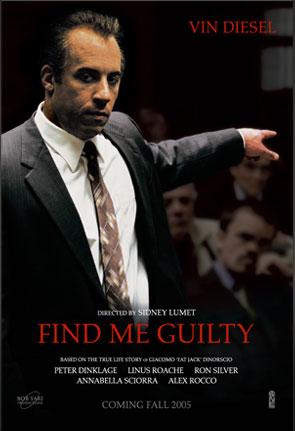 плакат фильма Признайте меня виновным