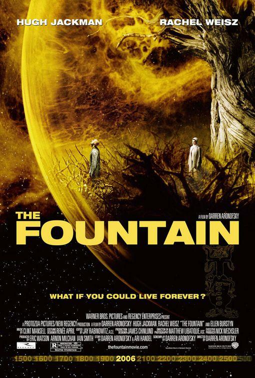 плакат фильма Фонтан