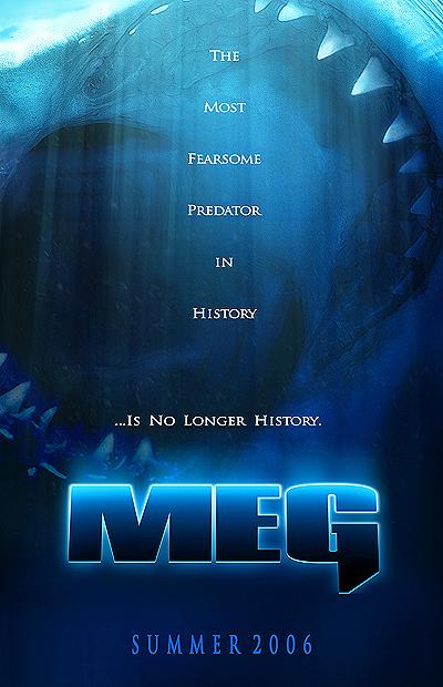 плакат фильма Мег: Монстр глубины