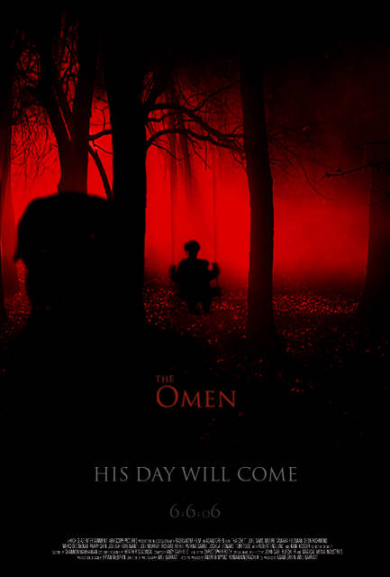 плакат фильма Омен