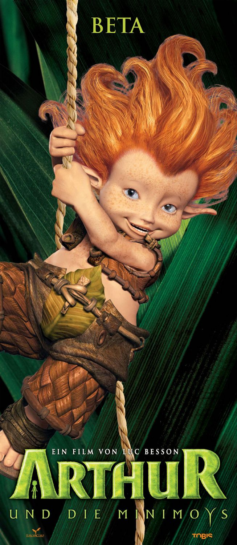 плакат фильма характер-постер Артур и минипуты