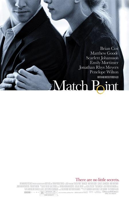 плакат фильма Матч пойнт