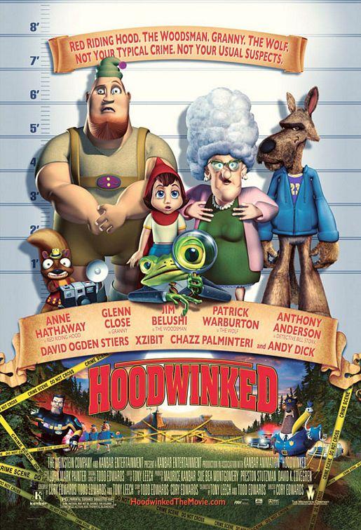 плакат фильма Правдивая история Красной Шапки
