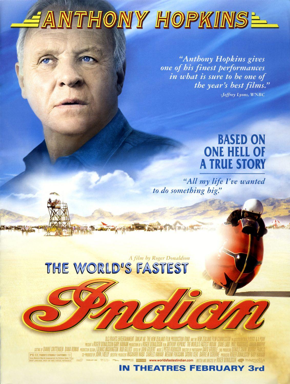 плакат фильма постер Самый быстрый «Индиан»