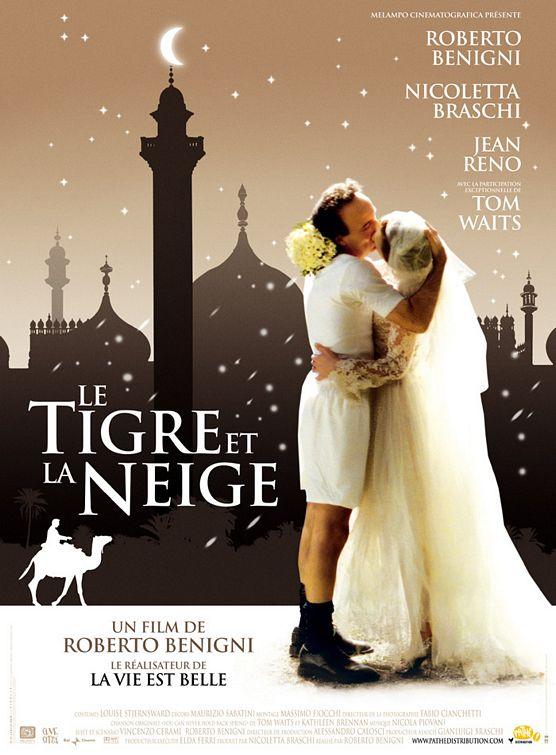 плакат фильма Тигр и снег