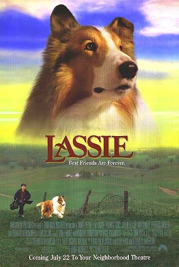 плакат фильма Лэсси