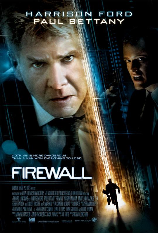 плакат фильма Огненная стена
