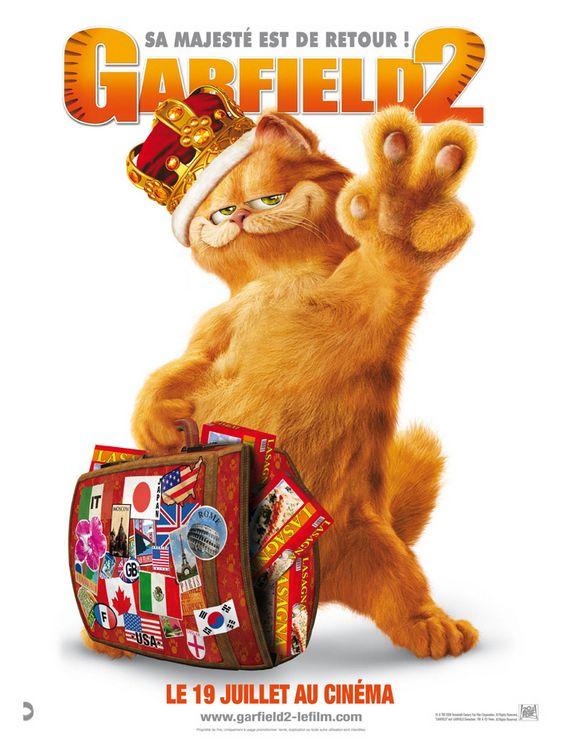 плакат фильма Гарфилд 2