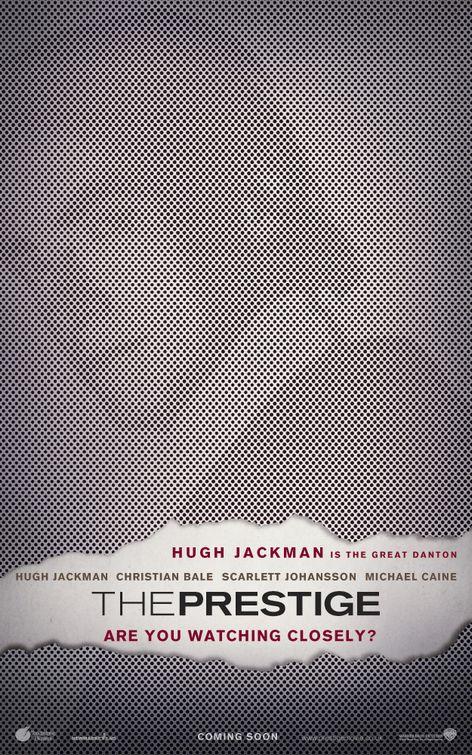 плакат фильма Престиж