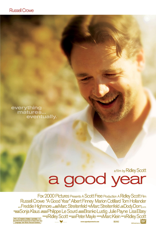 плакат фильма постер Хороший год