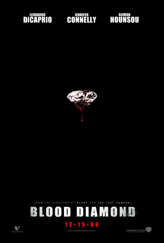 плакат фильма Кровавый алмаз