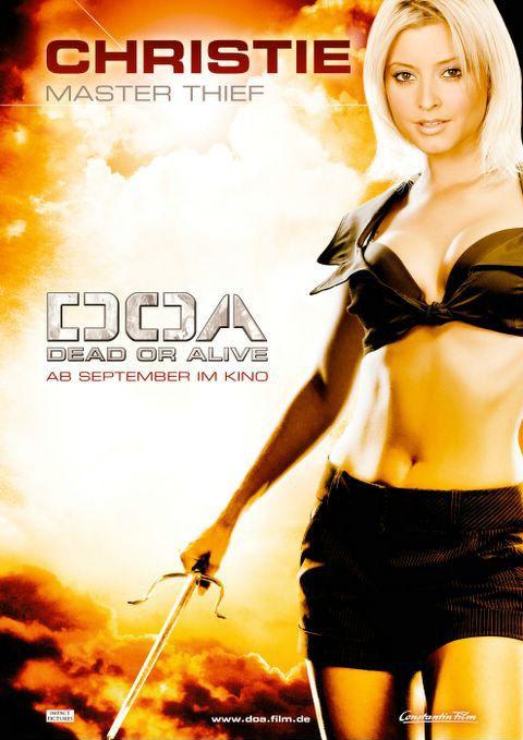 плакат фильма ДОА: Живым или мертвым