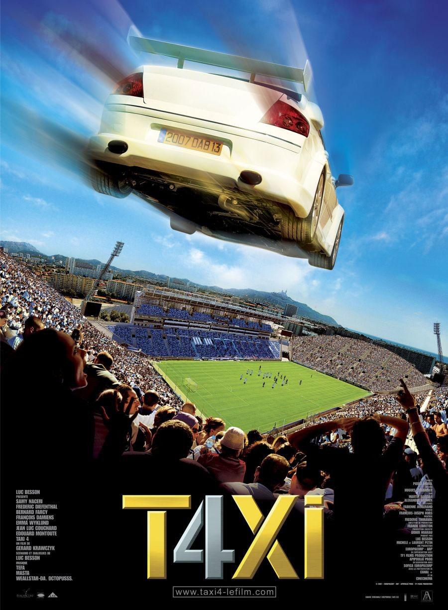 плакат фильма постер Такси 4