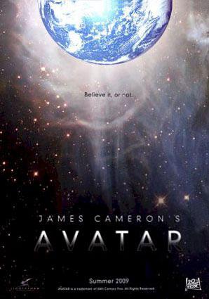 плакат фильма тизер Аватар