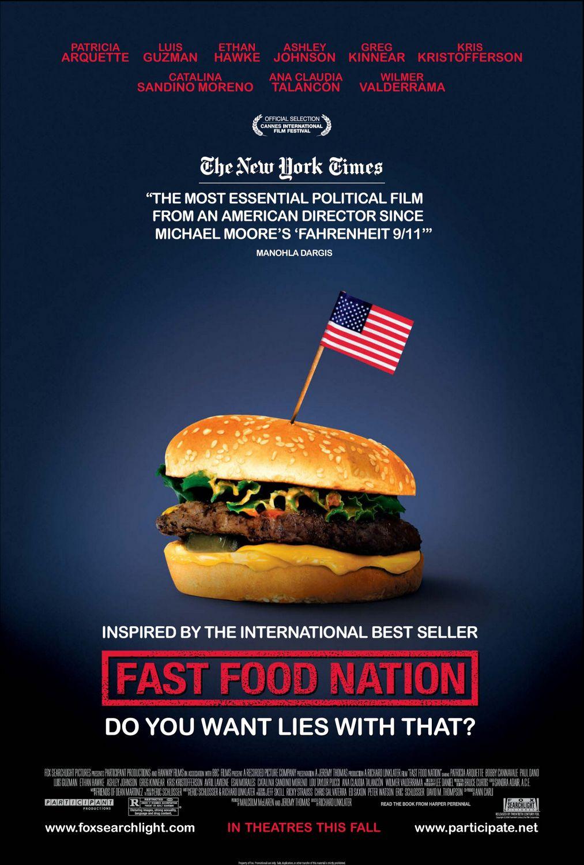 плакат фильма Нация фастфуда