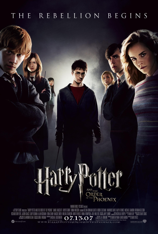 плакат фильма Гарри Поттер и Орден Феникса