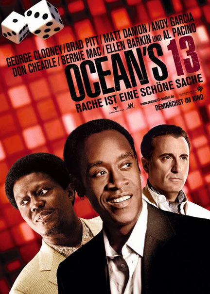 плакат фильма Тринадцать друзей Оушена