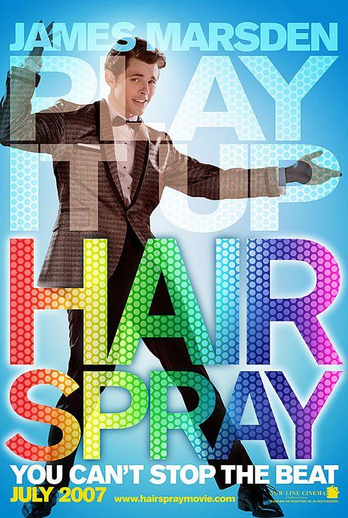 плакат фильма Лак для волос Джеймс Марсден,