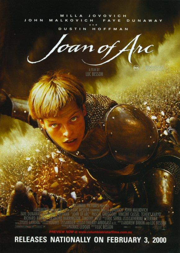 плакат фильма постер Жанна д'Арк