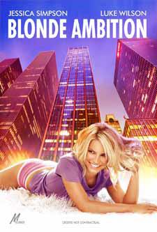 плакат фильма Блондинка с амбициями