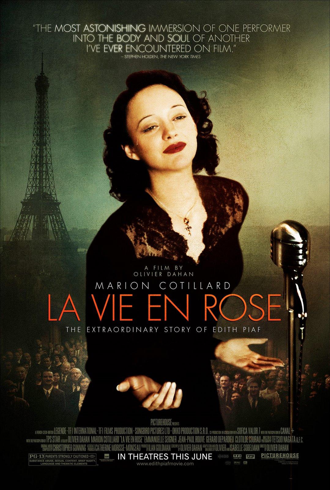 плакат фильма Жизнь в розовом цвете