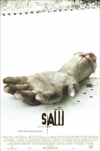 плакат фильма Пила. Игра на выживание