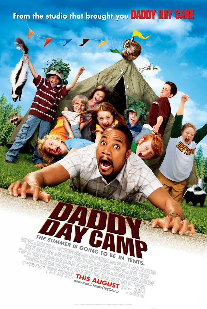 плакат фильма Дежурный папа: Летний лагерь