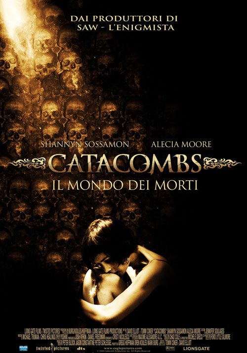 плакат фильма Катакомбы