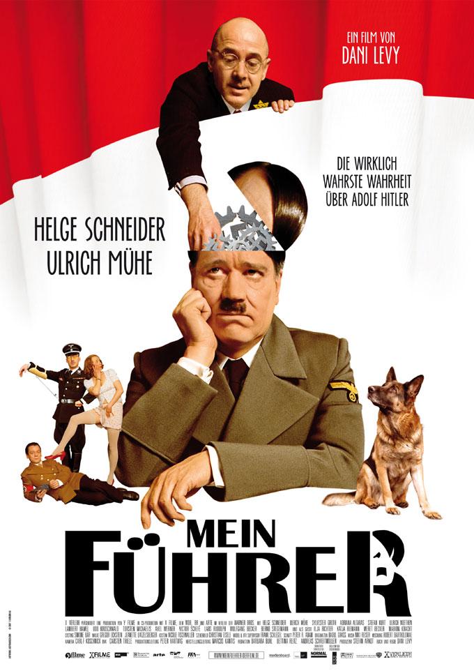 плакат фильма Мой фюрер, или Самая правдивая правда об Адольфе Гитлере