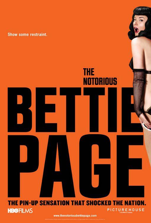 плакат фильма Непристойная Бэтти Пэйдж