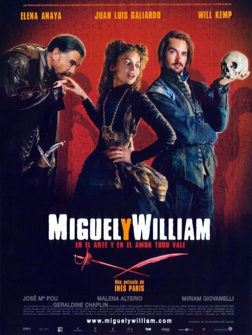 плакат фильма Мигель и Уильям