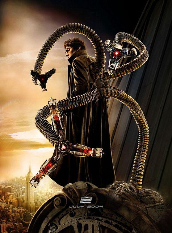 плакат фильма Человек-паук 2