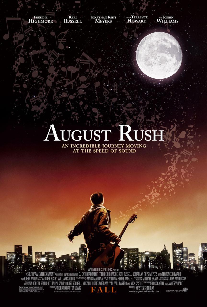 плакат фильма Август Раш