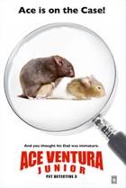 плакат фильма Эйс Вентура-младший
