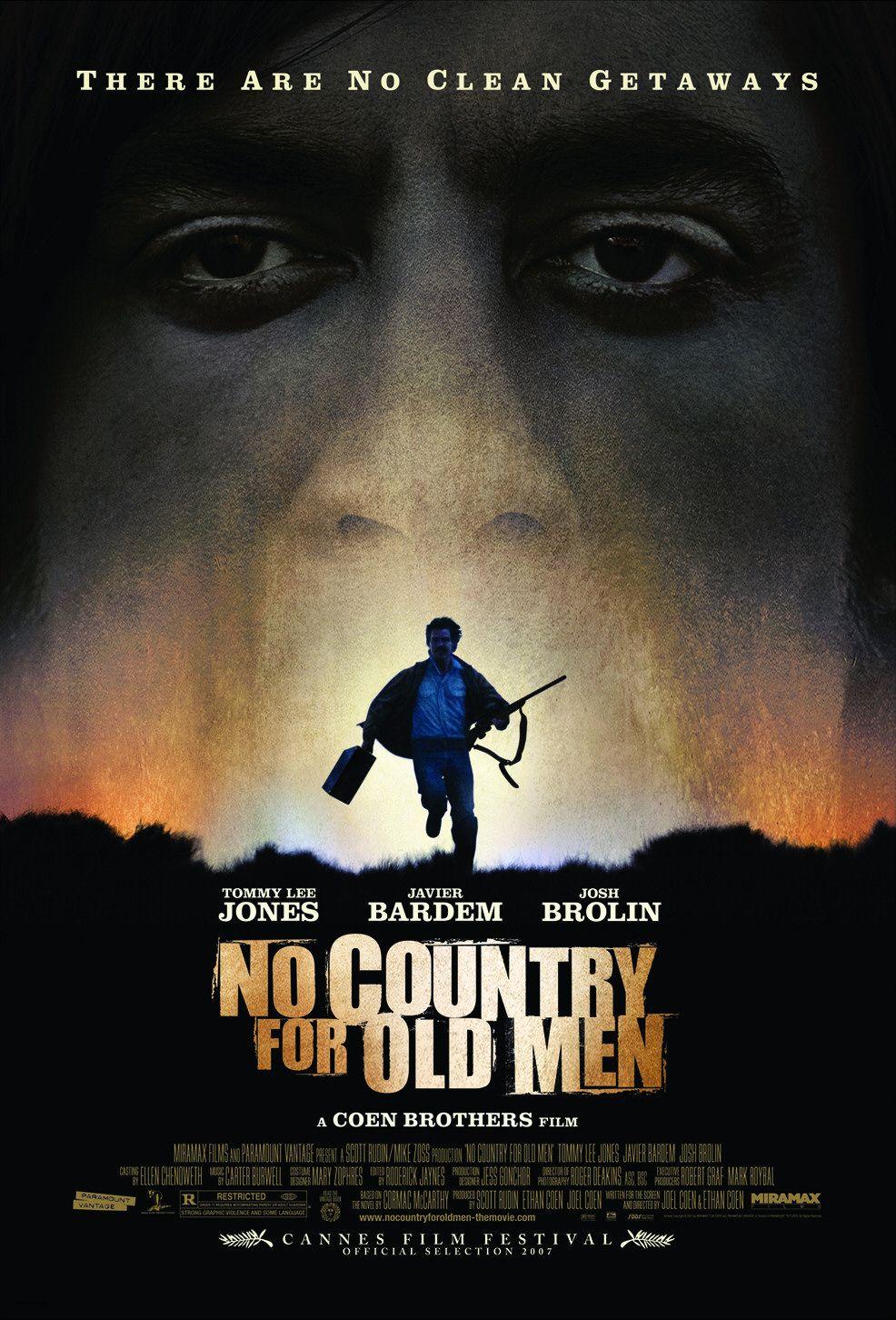 плакат фильма Старикам тут не место