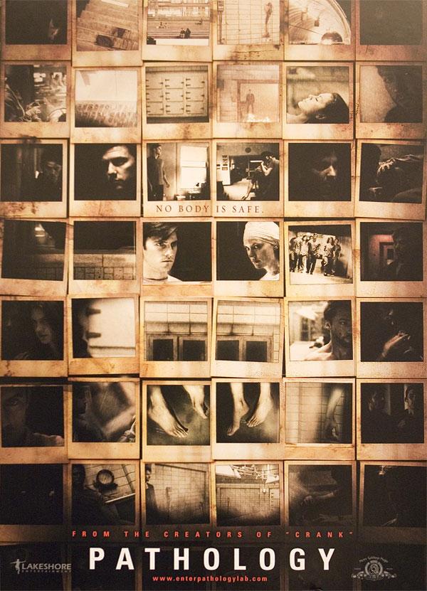 плакат фильма Патология