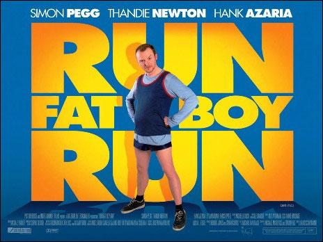 плакат фильма Беги, толстяк, беги