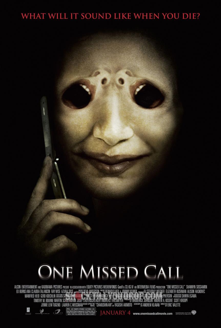 плакат фильма Один пропущенный звонок