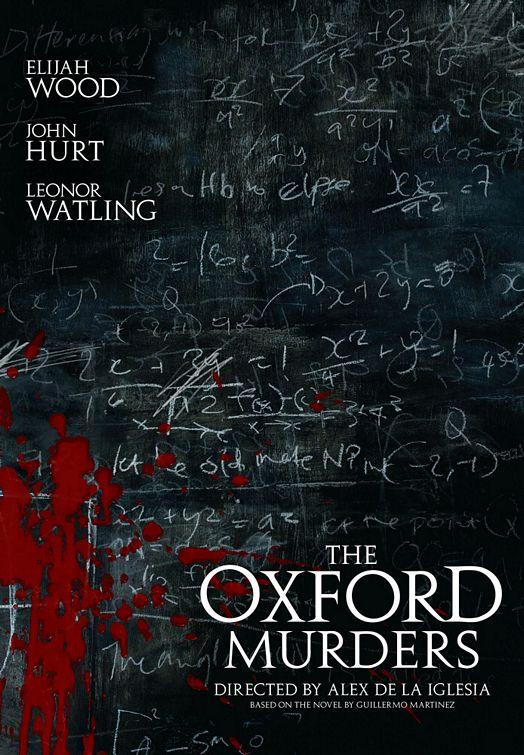плакат фильма Убийства в Оксфорде