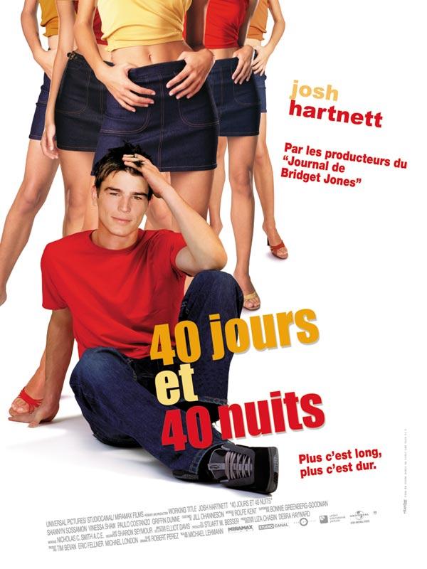 плакат фильма 40 дней и 40 ночей