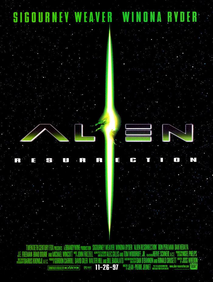 плакат фильма Чужой 4: Воскрешение