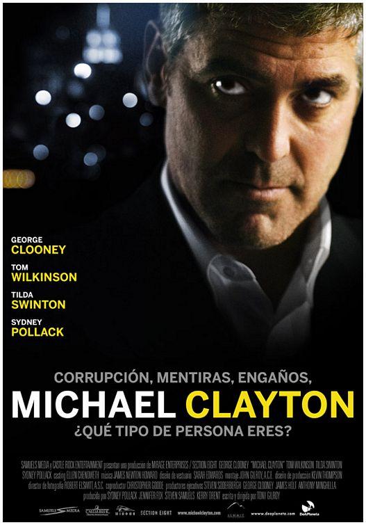 плакат фильма Майкл Клейтон