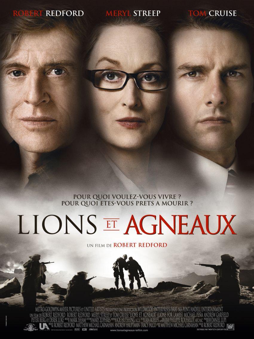 плакат фильма Львы для ягнят