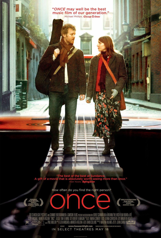 плакат фильма Однажды